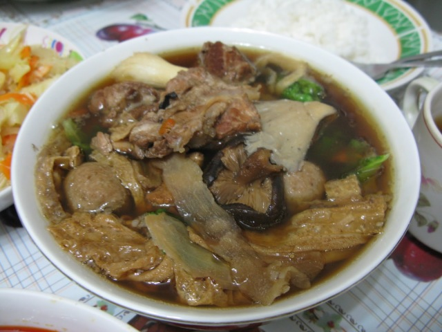 Hearty bowl of Bah Kut Teh