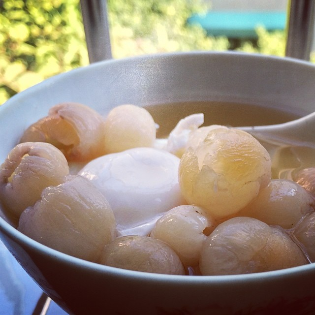 Longan and Egg Dessert known to deal with insomnia
