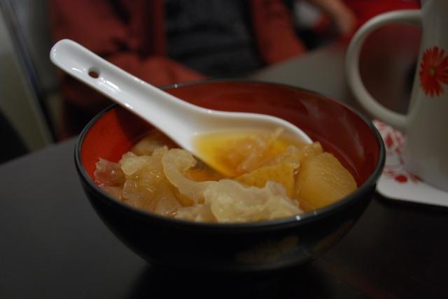 White Fungus Snow Pear Dessert