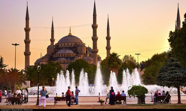 Turkey has a rich cultural heritage and is filled with beautiful vistas