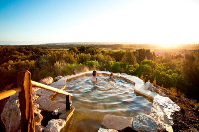 Indulge in a relaxing spa in Victoria's first natural hot spring