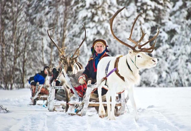 Hotel Kakslauttanen delivers a range of winter activities for its guests