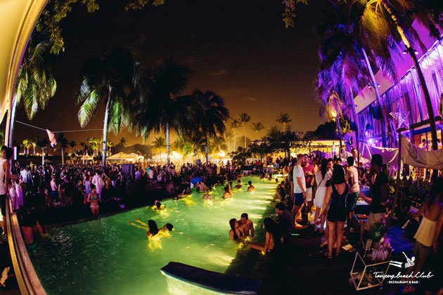 New Year's Eve at Tanjong Beach Club