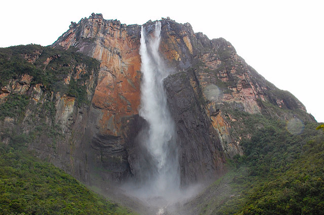 The Angels Falls in Venezuela was the inspiration to the 'Paradise Falls' in Disney movie, 'Up'
