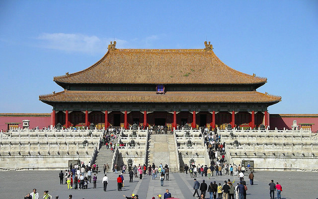 The Forbidden Palace is a popular tourist attraction in Beijing