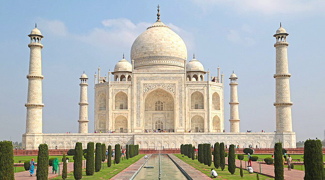 Aladdin's storyline was said to have been inspired by the fact that the Taj Mahal is a tomb, not a palace