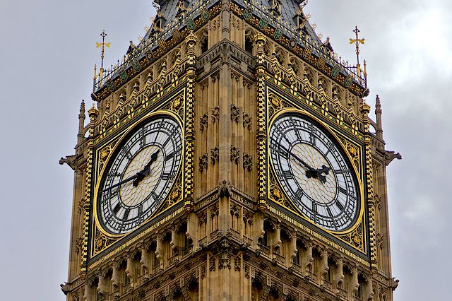 The Big Ben is a popular tourist attraction in London