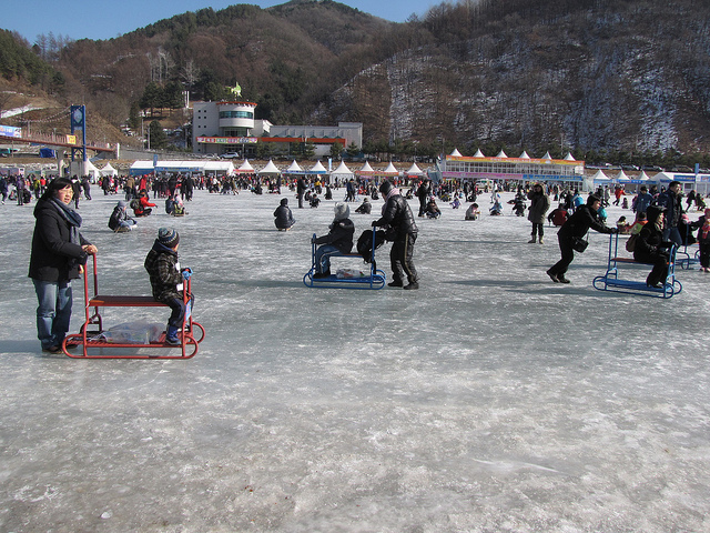 Hwacheon Sancheoneo (Mountain Trout) Ice Festival