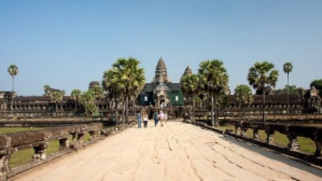 Siem Reap, Cambodia(image via Andrea Schaffer, Flickr)