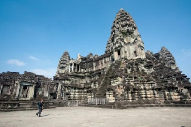 Angkor Wat in Siem Reap, Cambodia(image via Andrea Schaffer, Flickr)