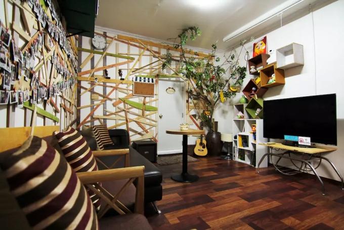 Banana Backpackers Cozy Lounge