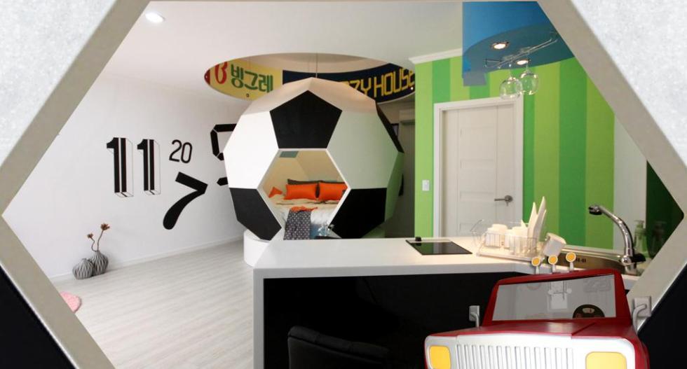 Football Themed Room