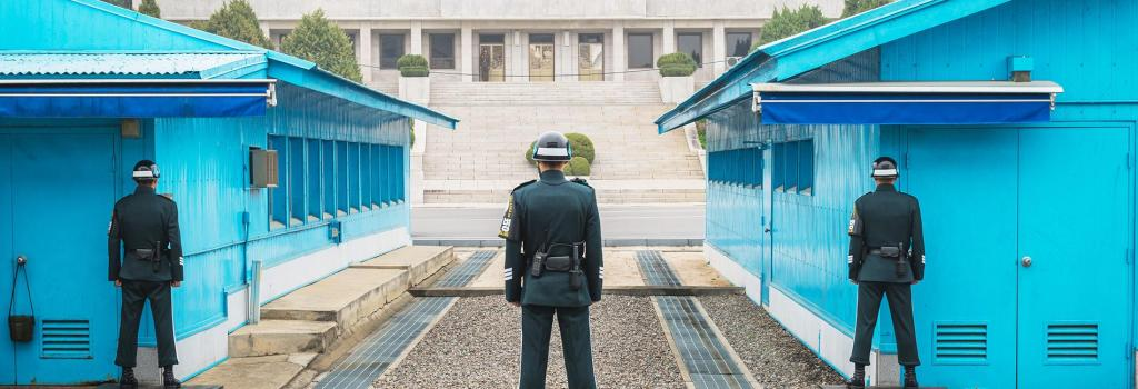 Korean Demilitarized Zone: A rare glimpse into the elusive North Korea.