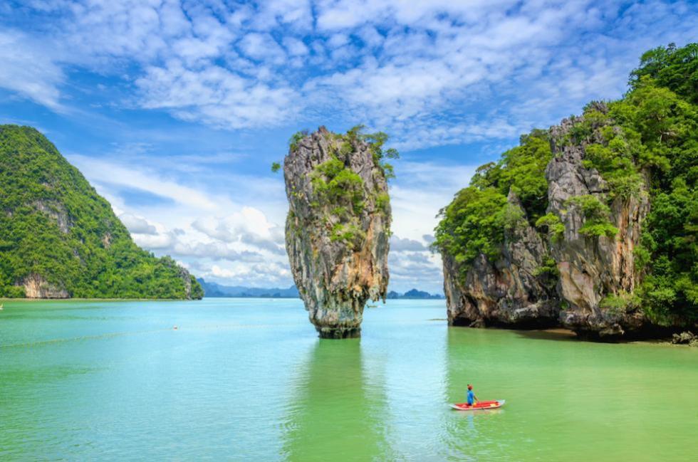 Pha Nga Bay Canoeing
