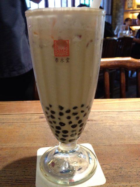Milk Tea in Taiwan: Chung Shui Tang