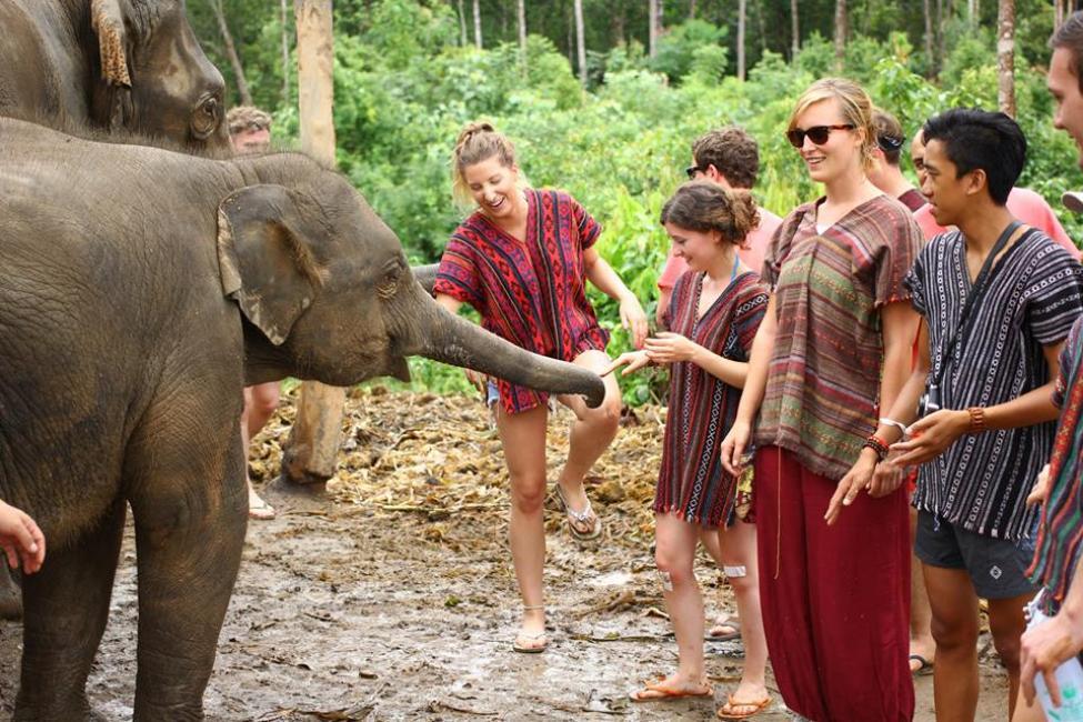 Chiang Mai Karen Village Elephant Sanctuary
