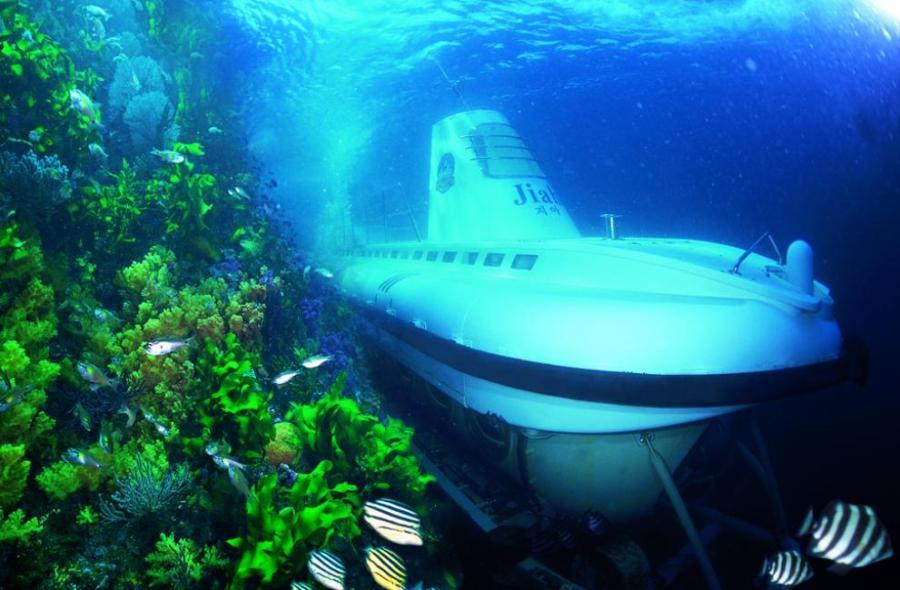 Jeju Island: Seogwip Submarine Experience
