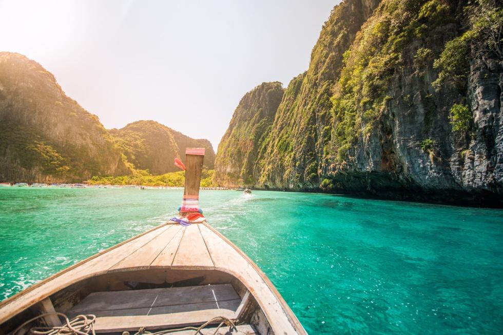 Maya bay Island beach at Southern Thailand