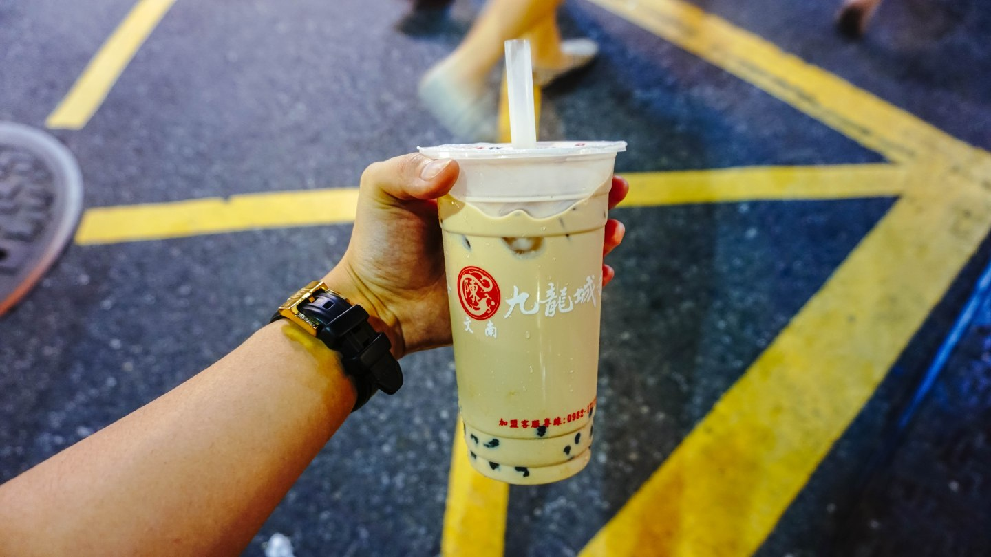 Milk Tea in Taiwan: Shilin Market Milk Tea