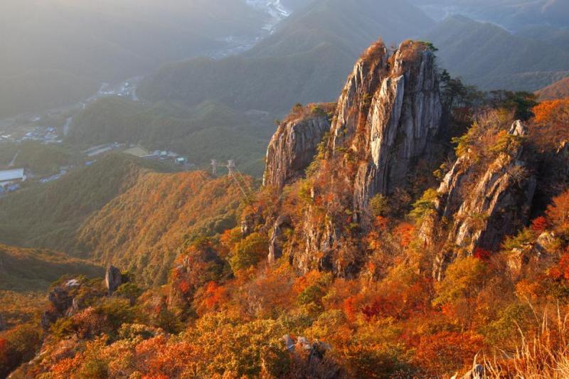Fall in Korea: Daedunsan National Park