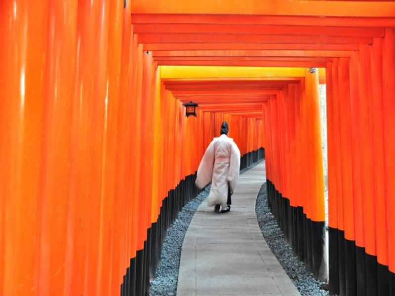 Kyoto, Japan: Fushimi Inari Taisha Temple