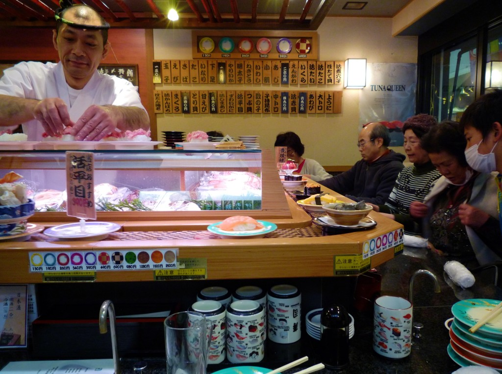 Japan Food: Tokyo Sushi Bar