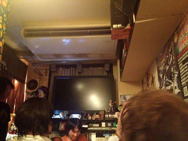 Tokyo, Japan: Game Bar-A-Button Arcade