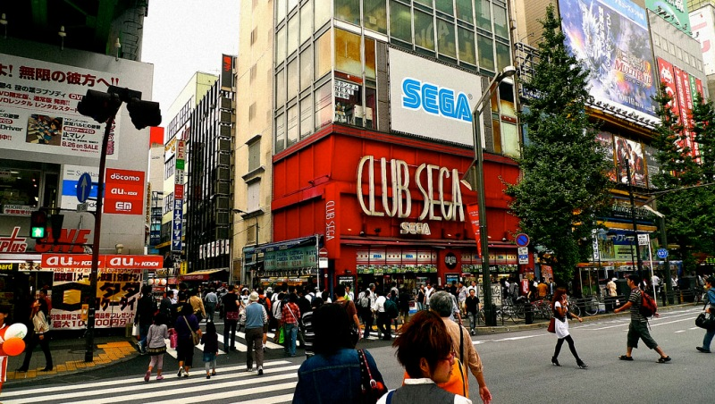 Tokyo, Japan: Club Sega Arcade