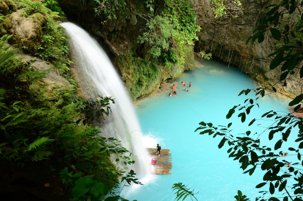 Picture Perfect Philippines: Kawasan Falls, Cebu