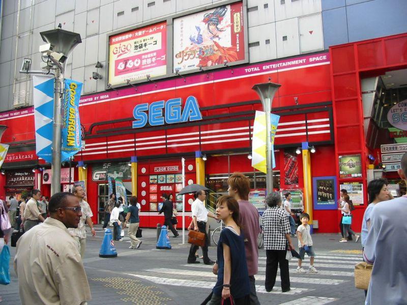Tokyo, Japan: Sega Gigo Arcade
