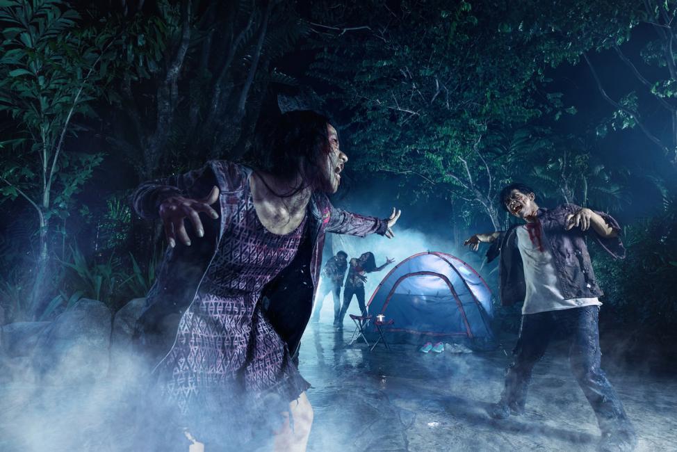 Haunted Halloween: Universal Studios Singapore