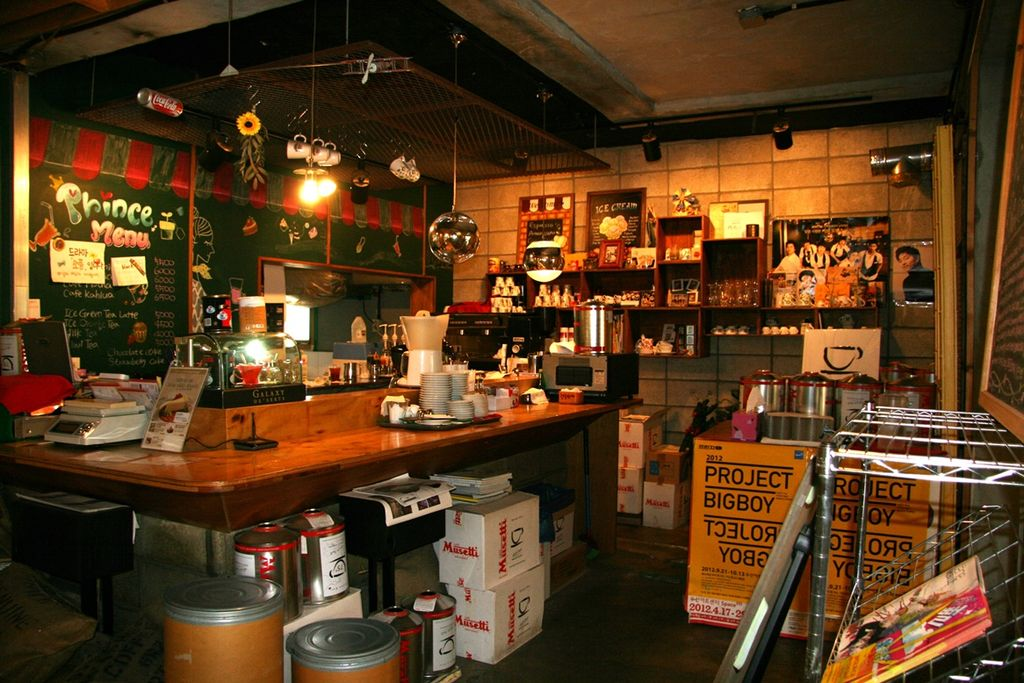 Instagrammable Cafes in Seoul: Coffee Prince
