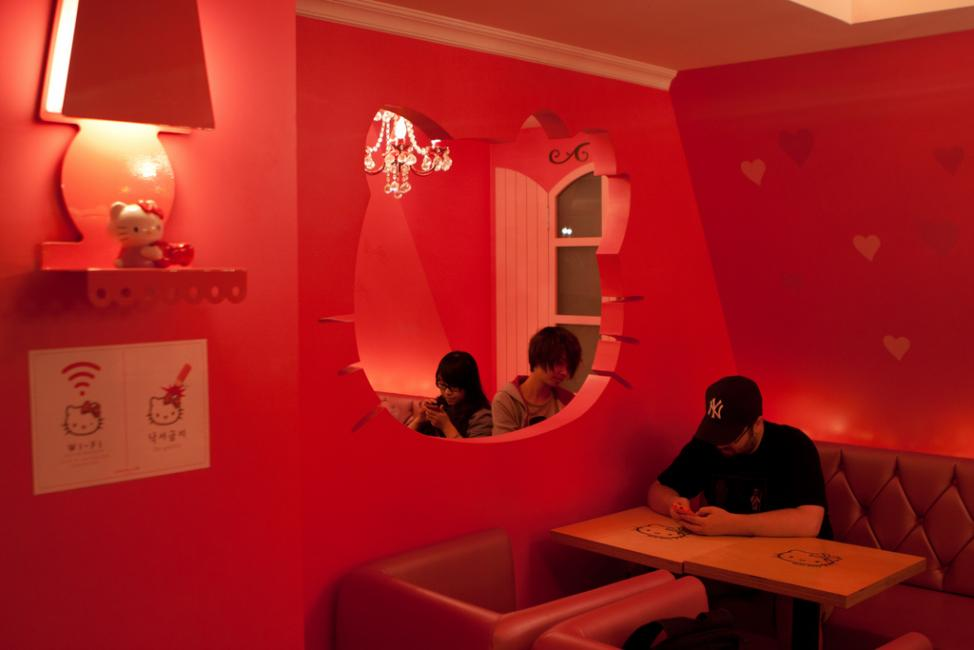 Instagrammable Cafes in Seoul: Hello Kitty Cafe