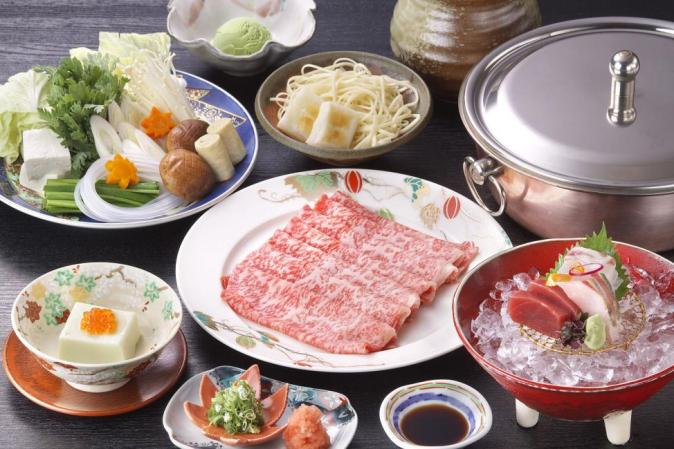 Kioi Nadaman Specialty: Kaiseki Cuisine