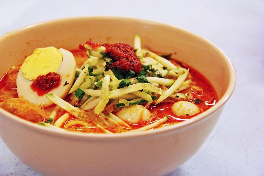 Southeast Asian Food: Singapore's Laksa